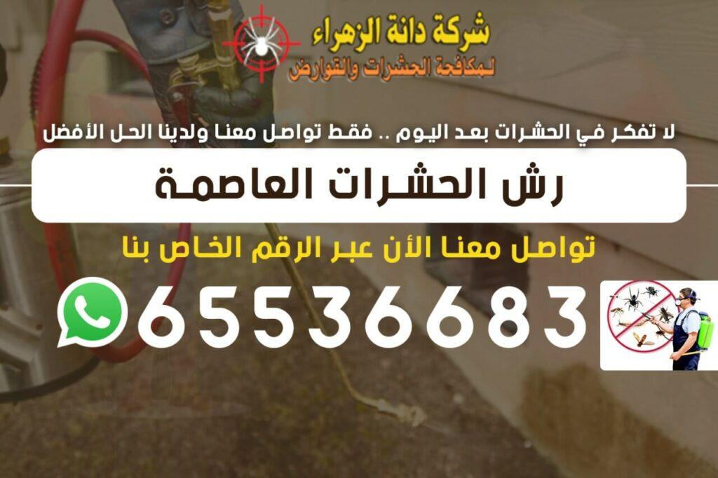 رش الحشرات العاصمة الكويت