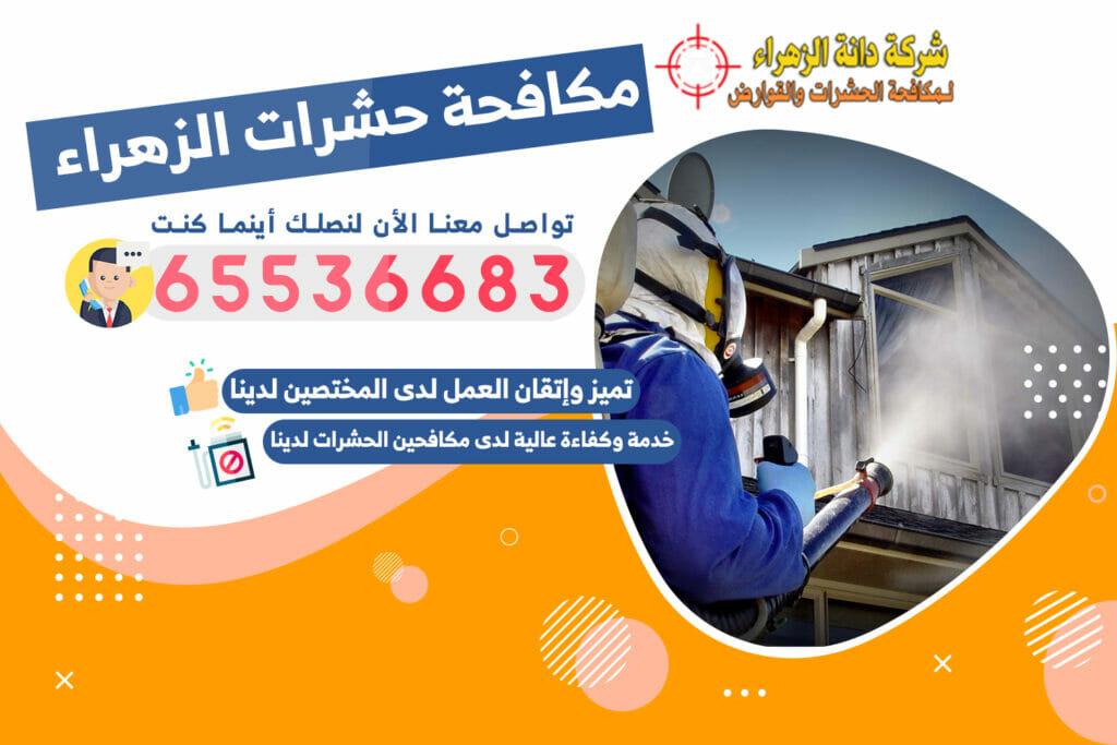 مكافحة الحشرات الزهراء 65536683 الكويت