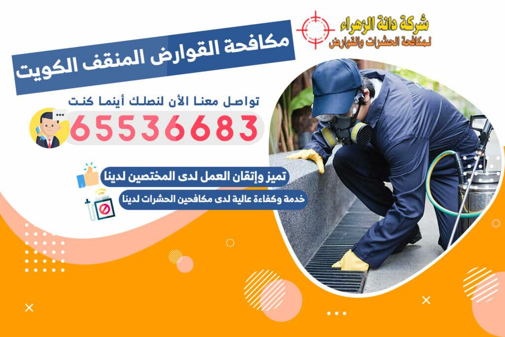 مكافحة القوارض المنقف 65536683 الكويت