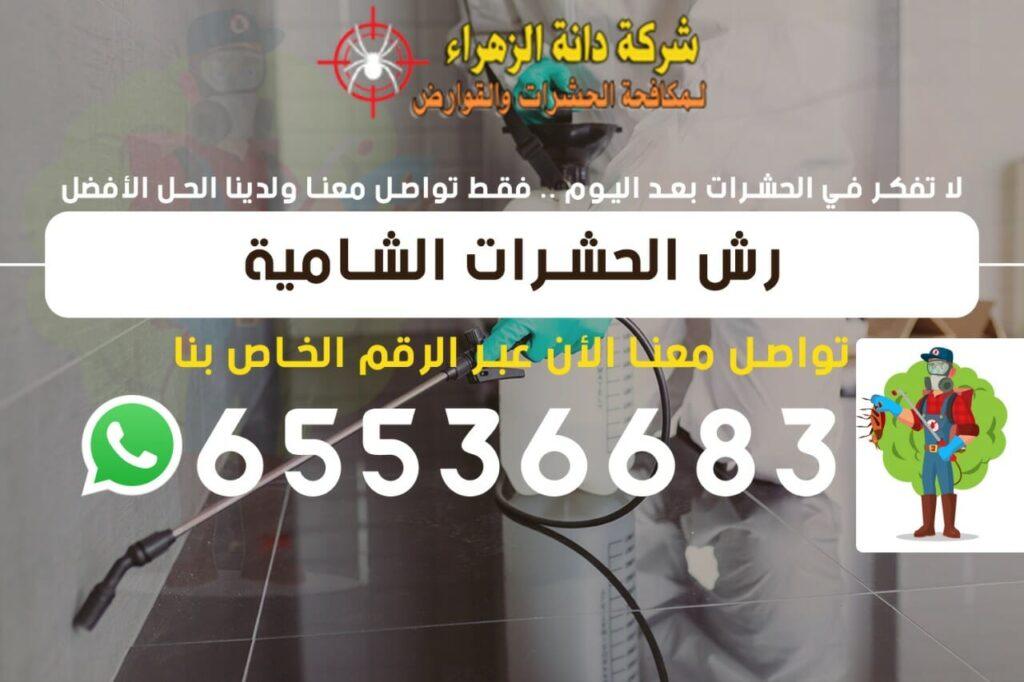 رش الحشرات الشامية 65536683