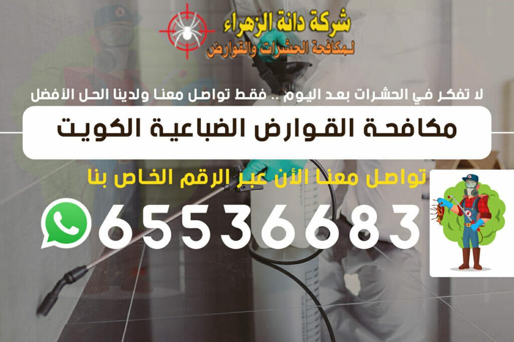 مكافحة القوارض الضباعية 65536683 الكويت